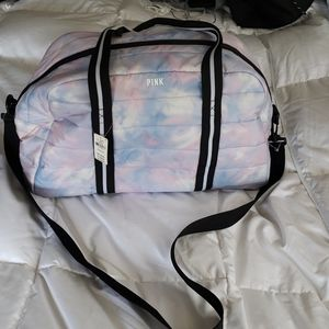 Pink by VS overnight bag